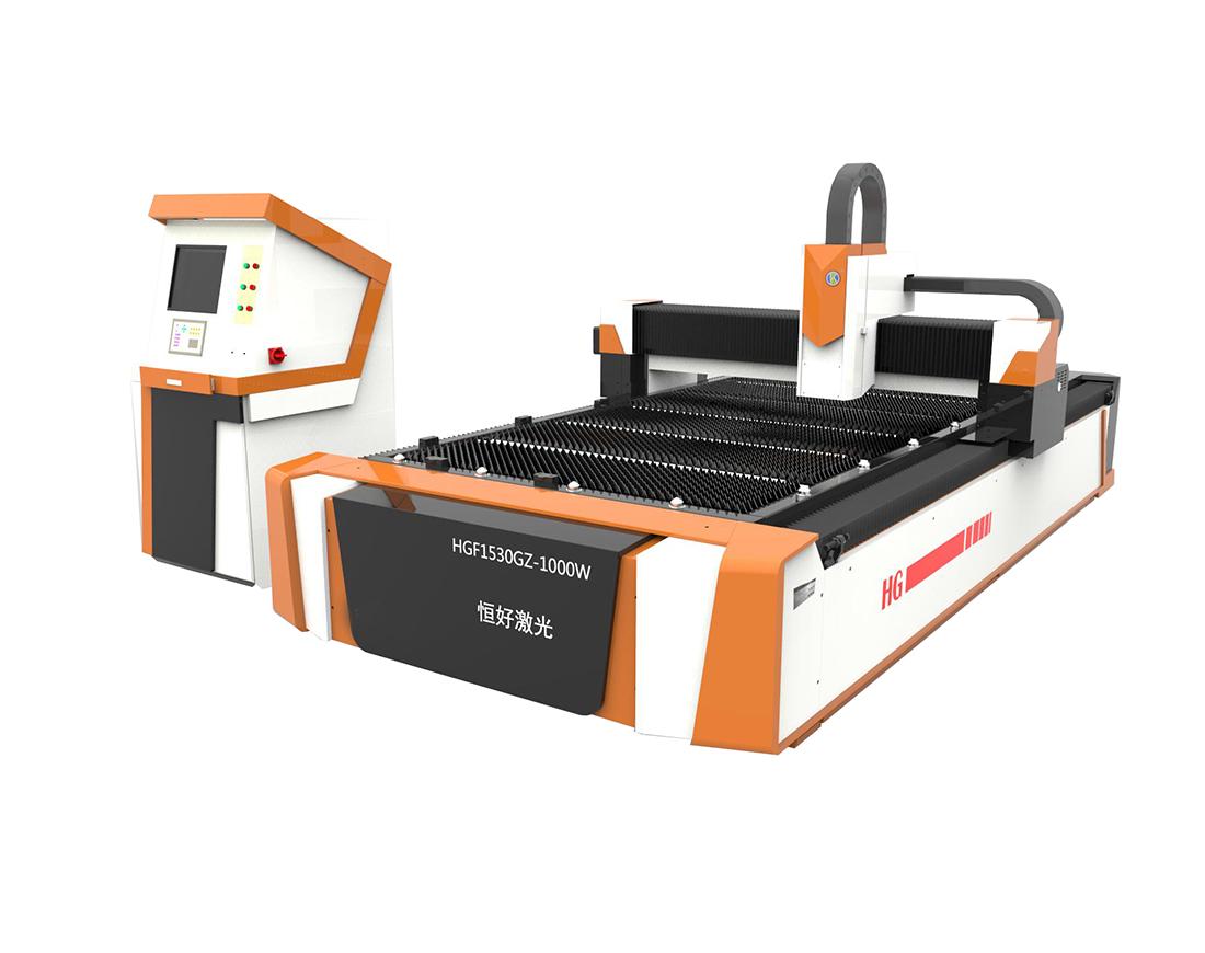 Single Platform Fiber Laser Cutting Machine